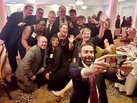 Leadership DeKalb Selfie